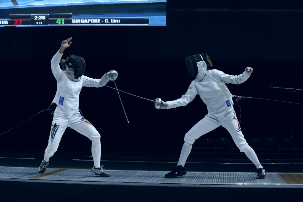 INTERVIEW with Medalist Fencer Lim Cheryl