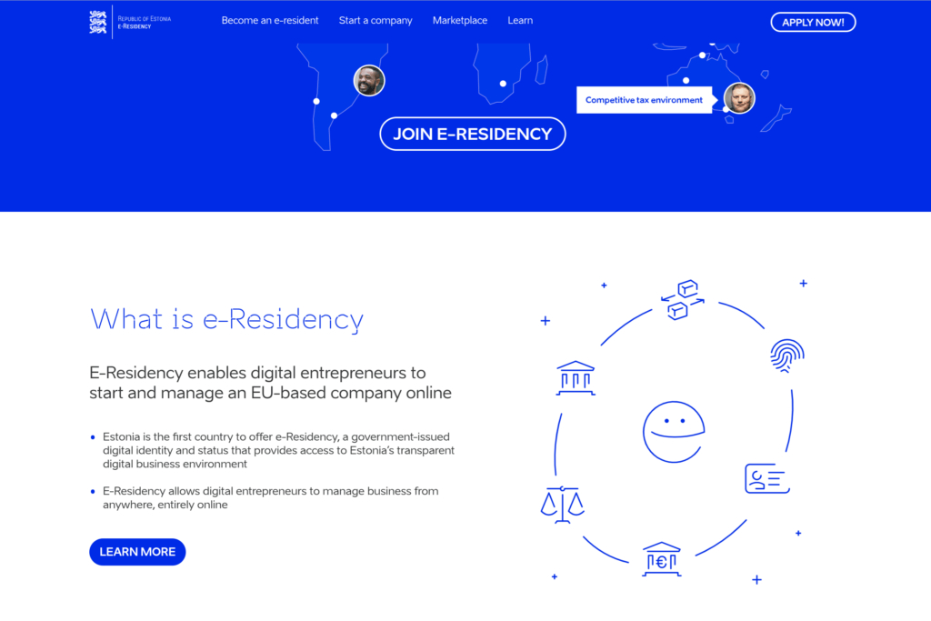 e-Residency marketplace